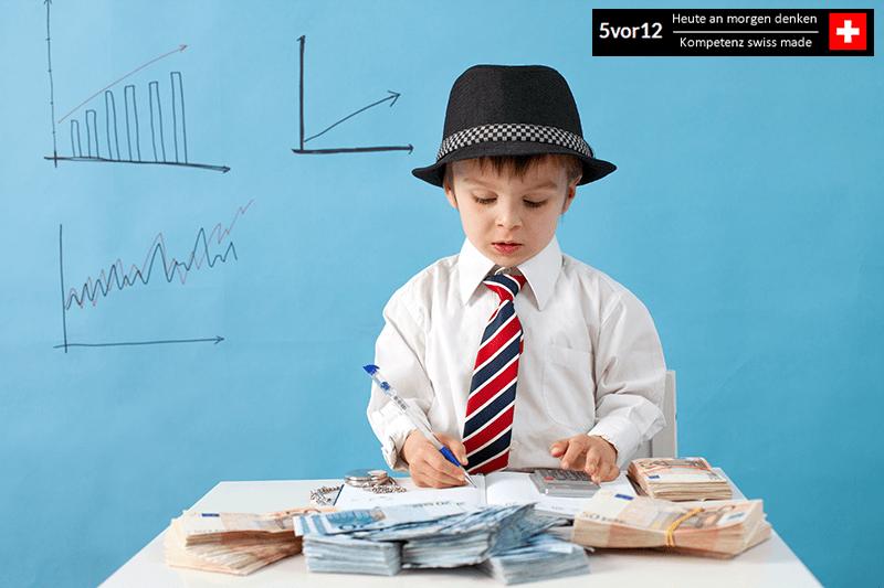 «Wecke dein finanzielles Genie –5vor12 für Kids» Workshop für Kinder in Zusammenarbeit mit TFCGmbH