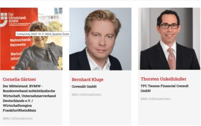 """BVMW webimpuls zum Thema Wirtschaft """"Plan U – Damit der Unternehmensverkauf zum Erfolg wird"""""""